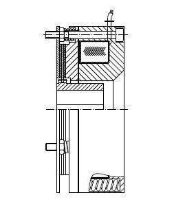 MUOB - Electromagnetic Spring-Operated Brake Image